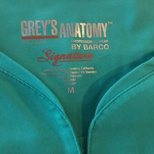 Grey's Anatomy  Uniform